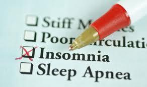 insomnia checklist