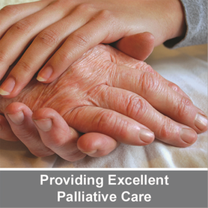 providing excellent palliative care